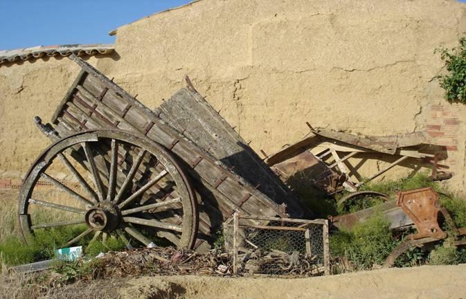 Carro tradicional abandonado